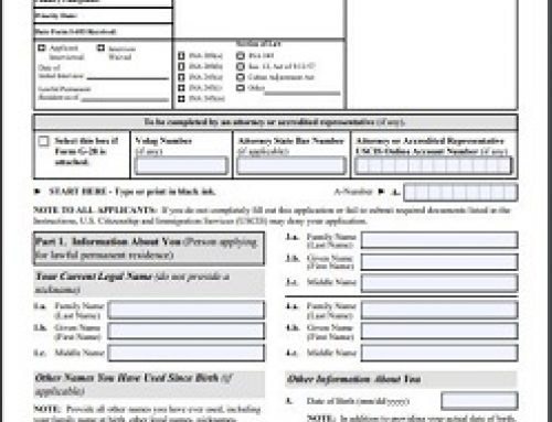 Top 5 Mistakes People Make When Filing for Adjustment of Status